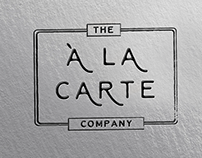 Branding and Logo Design for A LA CARTE