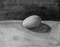 Graphite Egg - Drawing 101