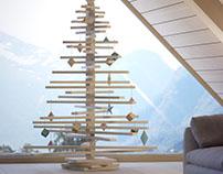 CHRISTMAS TREE VISUALISATION