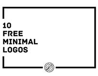 10 FREE Minimal Logos