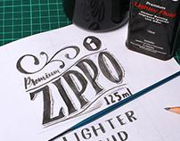 Zippo Lettering Process