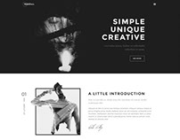 Looking for portfolio HTML template?