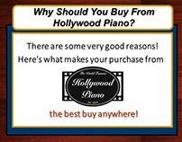 Sales Presentation/SlideShow - Hollywood Piano...