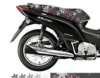 Projeto de Estampa para banco de motocicletas
