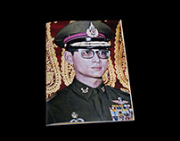 magazine about King Bhumibol