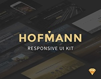 Hofmann — Free UI Kit for Sketch
