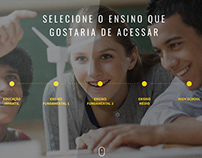 Website Colégio Objetivo