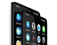 Apple iPhone XSlide Concept Phone