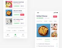 Recipe Mobile User Interface