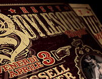 Nasty Boys Saloon's Event Posters