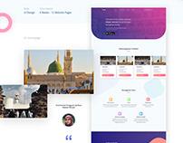 Hawari Ihram Marketplace Website
