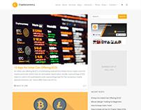 Blog Template - Cryptocurrency WordPress Theme