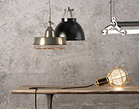 Curated Collections / 30 Industrial Lamps