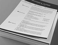 All in One Timeless Resume CV Pack
