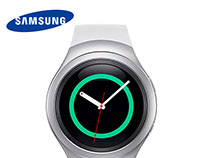 SAMSUNG S3 SMARTWATCH ADVERT