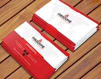 Free Corporate Freedom Business Card