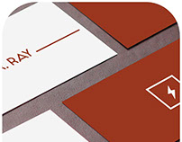 Concept | Dr Ray | Visiting Card
