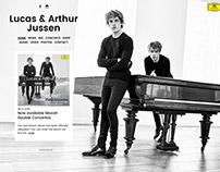 Lucas & Arthur Jussen Website