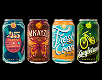 Cider Can Designs for 45 North Vineyard & Winery
