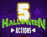 Halloween Text Styles - Photoshop Actions