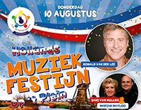 Poster Muziekfestijn SK Wilhelminaplein