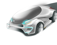 Concept car apple