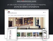 Bruniimmobiliare | Website Restyling