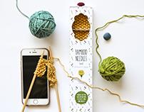 Knitting Needles Packaging Design