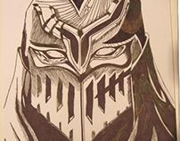 Zed's mask