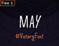 May - Free Animated Typeface