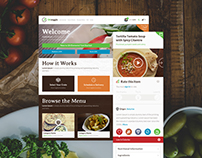 OKveggie Healthy Food Delivery Branding and Website