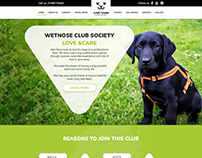 Wet Nose Website UI UX