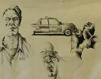 drawing, medium, art, fineart - gabrielbroady | ello