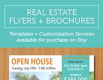 Real Estate Flyers and Brochure Templates