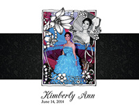 Kimberly@18 Album Layout