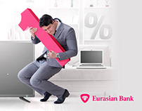 Kay visuals for Eurasian Bank