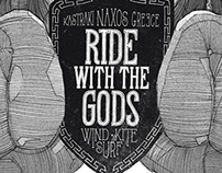 Ride With The Gods illustration