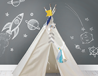 WeR Memory Keepers Teepee Illustrations