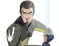 "SIX FANS ART PROJECT - ""Kanan Jarrus"""