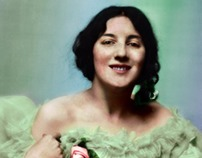 Audrey Munson: COLORIZATION