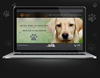 Web Design, Hotel for dogs Villa Canina