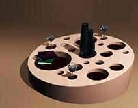 CUTOUT COFFEE TABLE