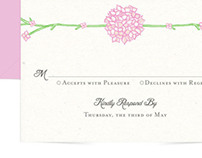 Mary & Ronnie - Wedding Invitations