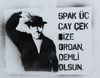 Turkey Street Art / Stencil