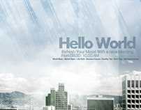 '' Hello World '' Virtual TV Show.