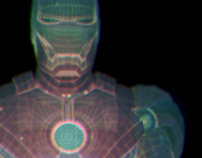 "IRON MAN II ""Hologram Armor Suit Development"""