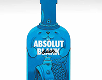 ABSOLUT BLANK GLOBAL PRINT AND TV