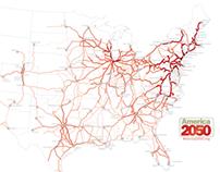 America 2050: Transportation Maps