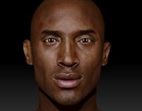 3D Kobe Sculpt - WIP