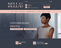 Projeto Site - Dellas Contabilidade